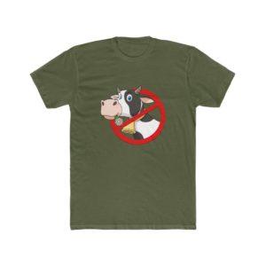 Stop Killing Animals Printed Men's Cotton Crew Tee
