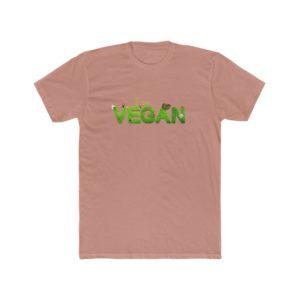 I Am Vegan Printed Men's Cotton Crew Tee